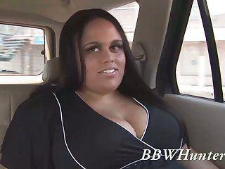 Wild SSBBW botch Christy Minx is more than ready to ride chunky cock