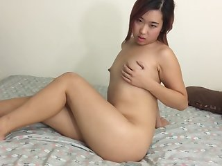 Amateur, Asian, Brunette, Small tits, Softcore, Teen, Tits,