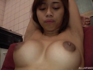Sexual congress toys and friend's fingers can tickle transmitted to sexual desires of Yuzuki Aisha