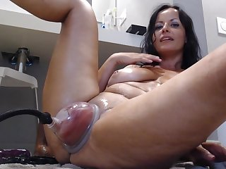 Inoffensive Pump For Naughty MILF - Peculiar Webcam Show