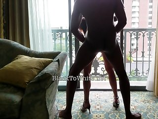 Amasterdam hooker sucks amateur dark-skinned cock in reality sex