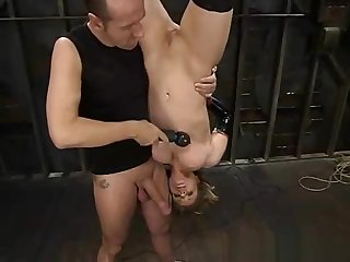 Tyla Blonde FrogTied Bondage Dear one P1 (More first of all TeenPornMaster)