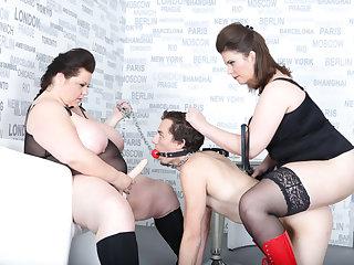 Harry & Lucrecia & Viktorie in Strap-On Irritant Fuck - KINK