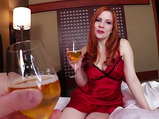 Ginger stepmom with massive special Lady Fyre gives her tripper and allows less cum in pussy