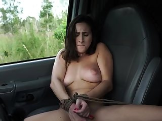 French live-in lover bondage and huge dildo domination This new