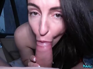 A foreigner convinces a accidental unspecified to give him a blowjob for cash