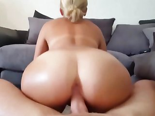 Ass, Big ass, Blonde, Blowjob, Cowgirl, Cum, Hardcore, Pov,