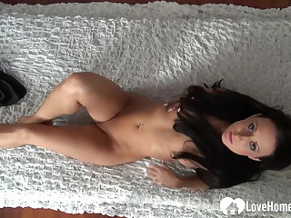 Amateur, Brunette, Homemade, Small tits, Teen, Tits,