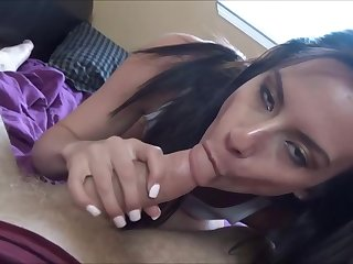 Alexis Deen is a slim brunette who needs a good fuck before going to work