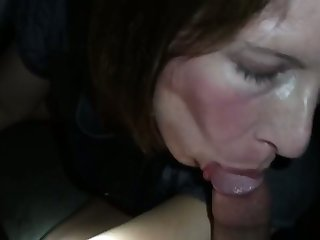 It's my wife's first gloryhole and she seems to be warm it
