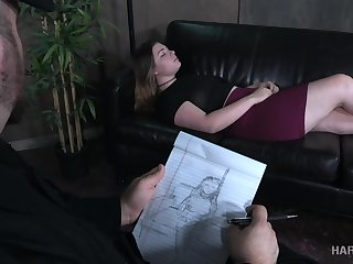 A psychiatrist turns broadly to be a bondage master and he loves big assed girls