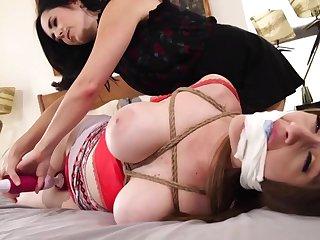 Dixie & Terra - Lesbian Bondage Fetish