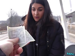 Money sexual connection leads European teen to insane POV