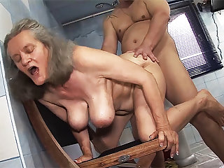 busty 83 years old mommy rough fucked