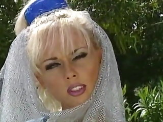 Classic porn with morose women plus DP