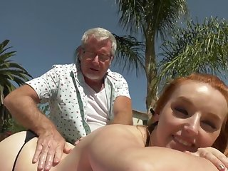 Cleo Clementine Helping Feet elderly and young