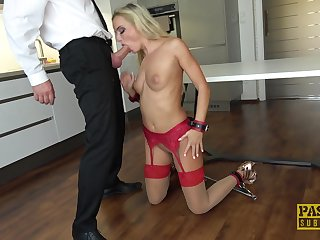 Business panhandler loves fucking his slutty trophy wife Victoria Absolute