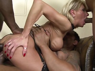 Hot mature shared overwrought a bunch of bodies more insane cocks