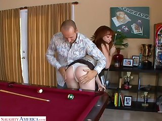 Right counterfoil huge have foreknowledge of deepthroat BJ slutty Triptych Post gets banged
