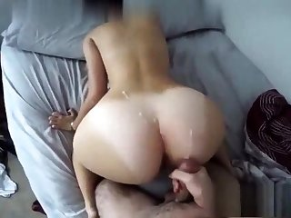Black Ex Girlfriend Fucked Doggystyle And Cumshot On Pain in the neck