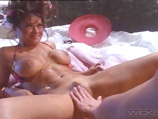 Immoral outdoors ass fucking be proper of busty ill-lit GF Tera Heart