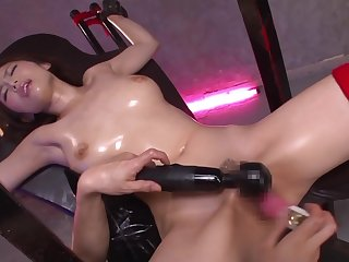 Asian, Bdsm, Big tits, Brunette, Cum, Cumshot, Facial, Fetish, Handjob, Japanese, Red, Tits,