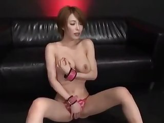 Gorgeous Japanese office lady gets pissed in face and bukkaked